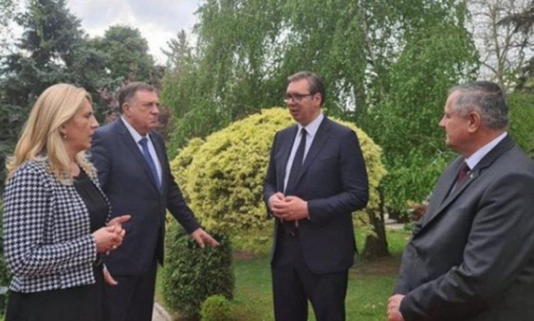 Photo of Počeo sastanak Vučića sa delegacijom Srpske