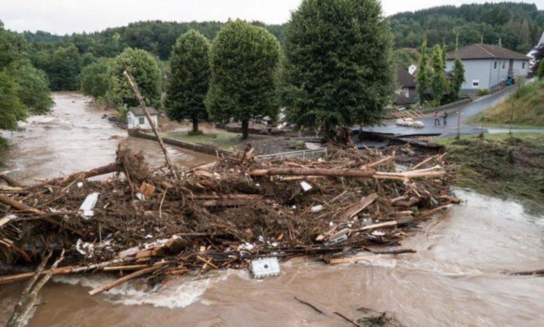 Photo of Novi talas poplava u Njemačkoj, borba sa vodenom stihijom u pograničnim dijelovima Austrije