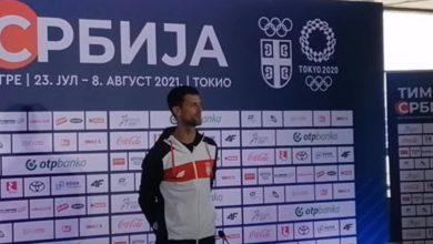 Photo of Đoković ponosno pred odlazak u Tokio zapjevao Bože pravde (VIDEO)