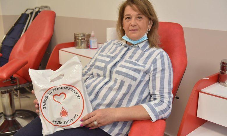 Photo of Ankica Mirković: Hrabra dama koja daje krv (video)