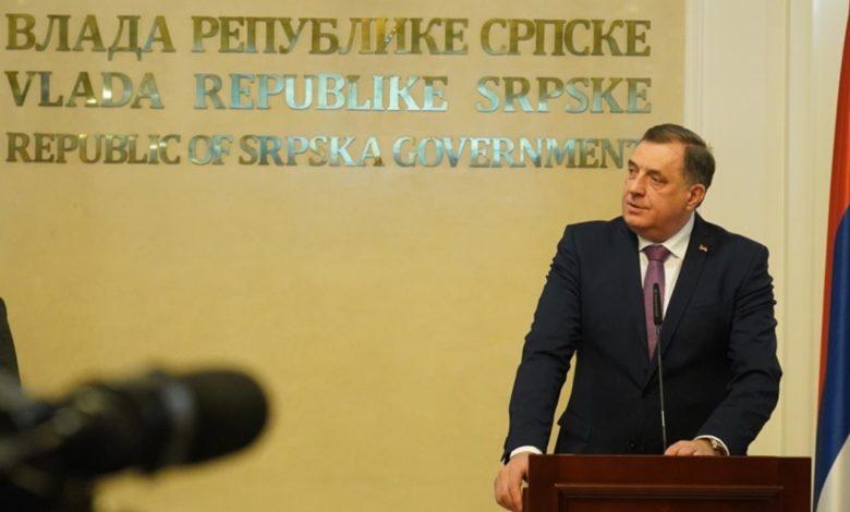 Photo of Dodik: Ovo je zadnji ekser u mrtvački kovčeg BiH