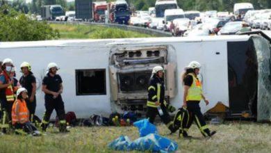 Photo of Autobus iz Srbije se prevrnuo u Njemačkoj, 19 ljudi povrijeđeno (video)