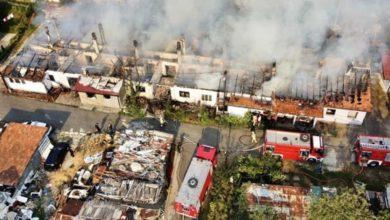 Photo of Veliki požar u sarajevskom naselju Buća Potok, vatra uništila više kuća