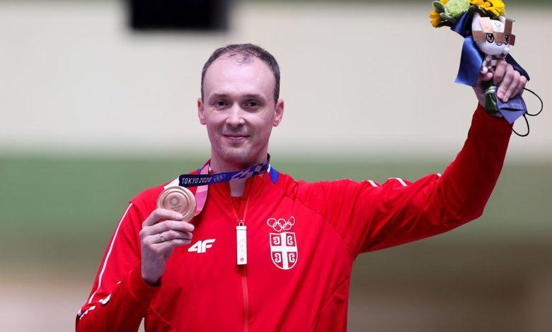 Photo of Bronzana medalja za Milenka Sebića, peta za Srbiju na Igrama u Tokiju