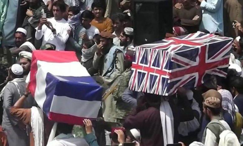 Photo of Talibani održali lažnu sahranu SAD i NATO (video)