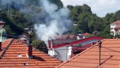 Photo of Zvornik: Izgorjela krovna konstrukcija na porodičnoj kući