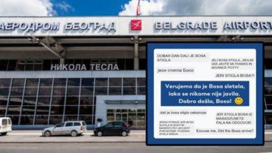 "Photo of Aerodrom ""Nikola Tesla"": – Da li je stigla Bosa iz Masačusetsa?"