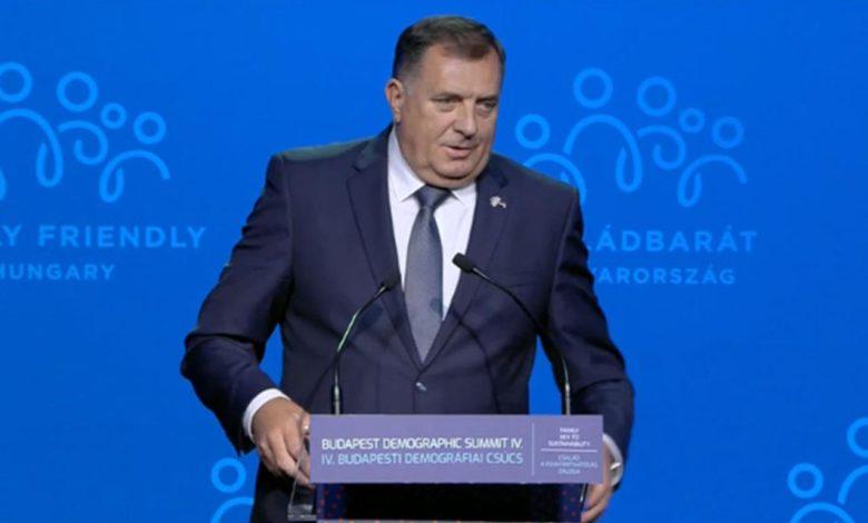 Photo of Dodik dobio gromoglasni aplauz: Nećemo biti primljeni u EU, pa ja ne moram da vam se ulagujem