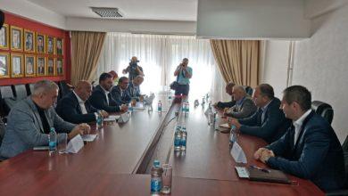 Photo of Ministar Staša Košarac u Zvorniku sa gradonačelnikom Zoranom Stevanovićem