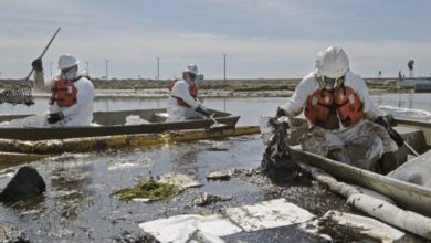 Photo of Zbog izlijevanja nafte u Kaliforniji na pomolu ekološka katastrofa (video)