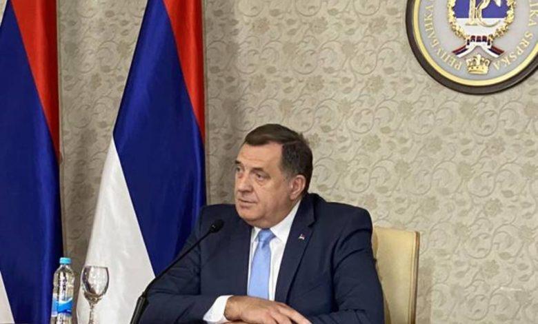 Photo of Dodik: Na sjednici Predsjedništva bio sam protiv svih tačaka dnevnog reda