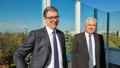 Photo of Sastanak Vučića i Čovića: Odgovor na sve krize je dogovor tri naroda