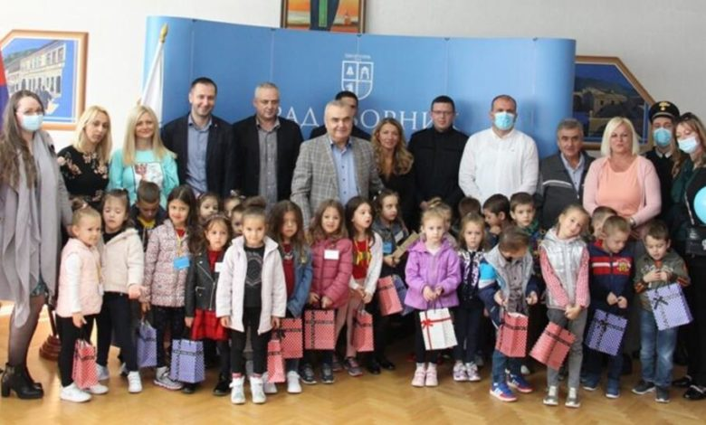 Photo of Stevanović mališanima uručio ključ grada