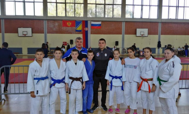 """Photo of Džudisti """"Srpskog sokola"""" osvojili sedam medalja, dvije zlatne"""